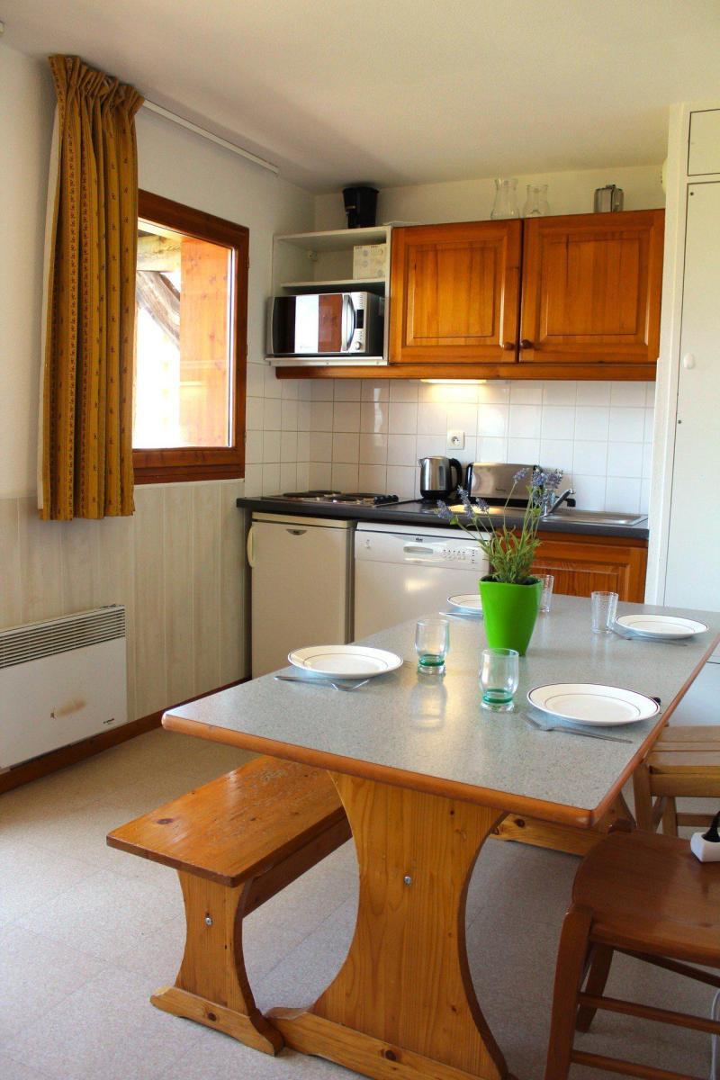 Vacaciones en montaña Apartamento cabina 2 piezas para 6 personas (EG33) - Les Chalets de SuperD Eglantier - Superdévoluy - Bañera