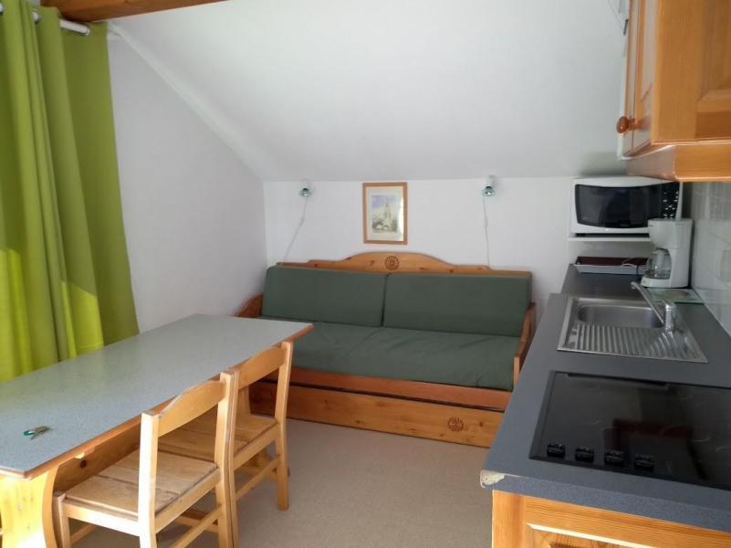 Vacaciones en montaña Apartamento cabina 2 piezas para 6 personas (EG63) - Les Chalets de SuperD Eglantier - Superdévoluy - Sofá-cama