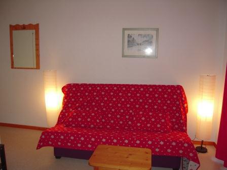 Vacaciones en montaña Apartamento 4 piezas para 8 personas (FR51) - Les Chalets de SuperD Fraxinelle - Superdévoluy - Sofá-cama