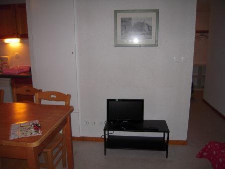 Vacaciones en montaña Apartamento 4 piezas para 8 personas (FR51) - Les Chalets de SuperD Fraxinelle - Superdévoluy - TV