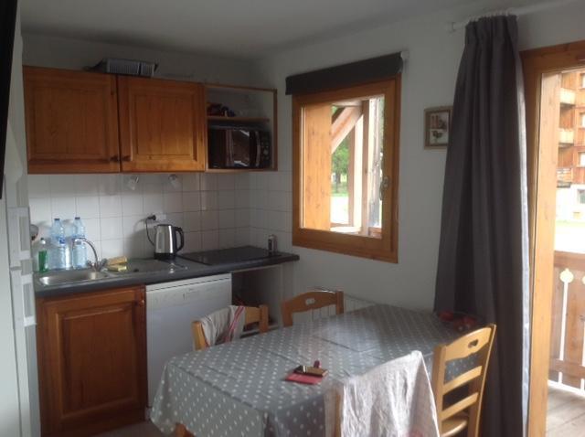 Vacaciones en montaña Apartamento cabina 2 piezas para 6 personas (FR24) - Les Chalets de SuperD Fraxinelle - Superdévoluy - Kitchenette