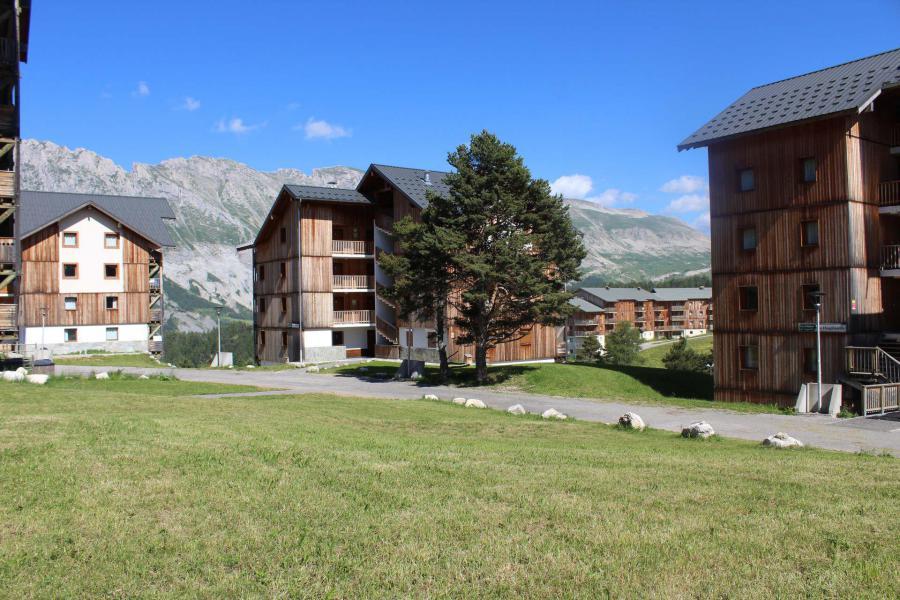 Wakacje w górach Apartament 4 pokojowy 8 osób (GE25) - Les Chalets de SuperD Gentiane - Superdévoluy