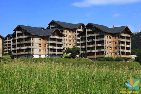 Wakacje w górach Apartament 2 pokojowy z alkową 6 osób (GE42) - Les Chalets de SuperD Gentiane - Superdévoluy