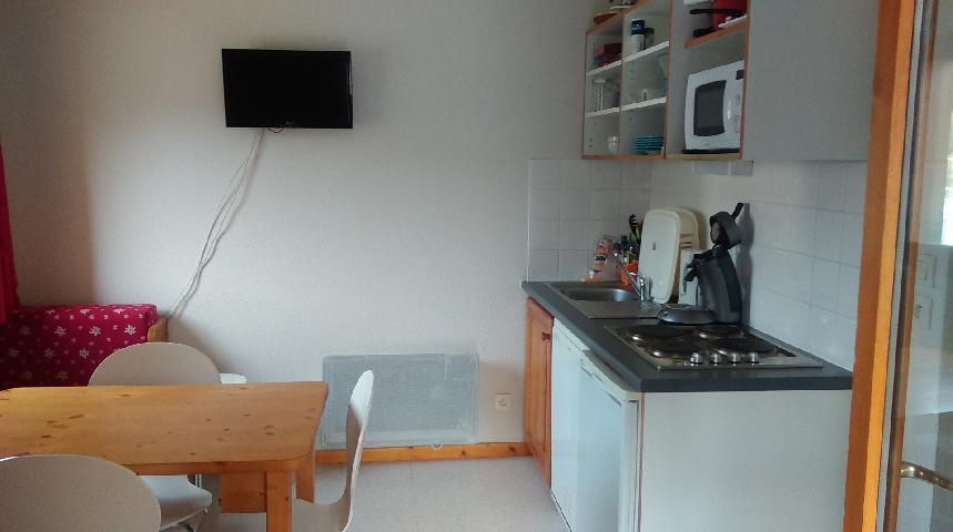 Vacaciones en montaña Apartamento 3 piezas para 4 personas (GE21) - Les Chalets de SuperD Gentiane - Superdévoluy - TV