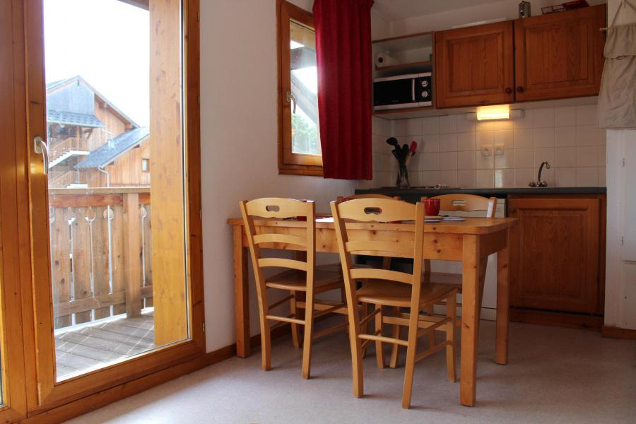 Vacaciones en montaña Apartamento cabina 2 piezas para 6 personas (HE32) - Les Chalets de SuperD Hélianthème - Superdévoluy