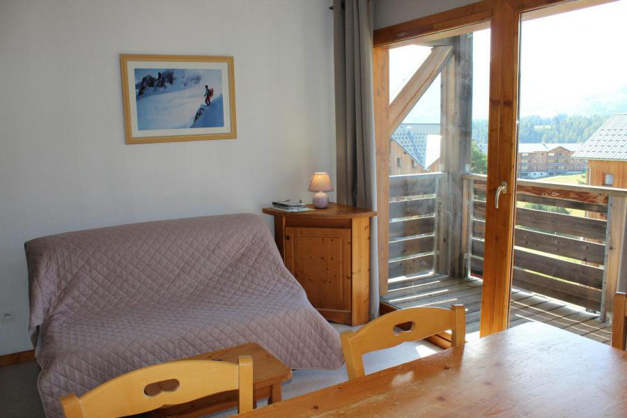 Vacaciones en montaña Apartamento cabina 2 piezas para 6 personas (HE54) - Les Chalets de SuperD Hélianthème - Superdévoluy - Banqueta