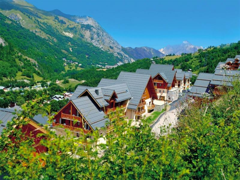 Holiday in mountain resort Les Chalets de Valoria - Valloire - Summer outside