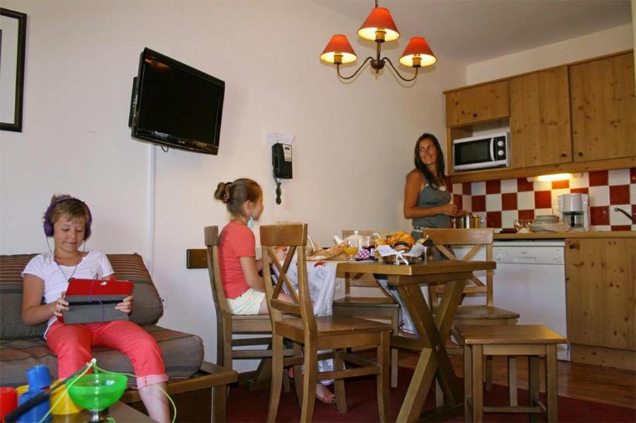 Urlaub in den Bergen Les Chalets de Valoria - Valloire - Küche