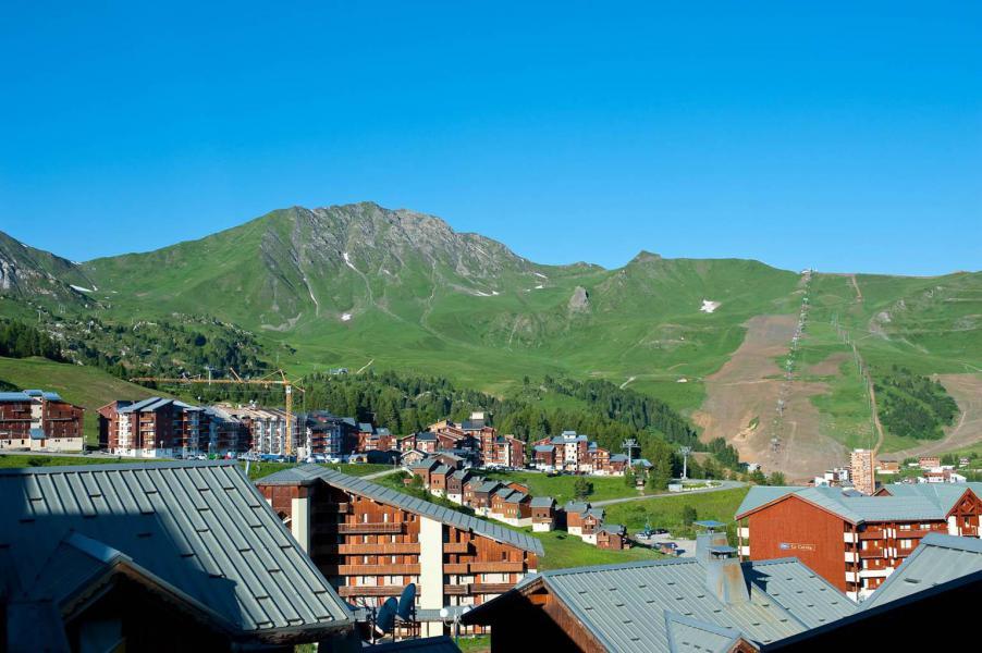 Каникулы в горах Les Chalets des Alpages - La Plagne - летом под открытым небом