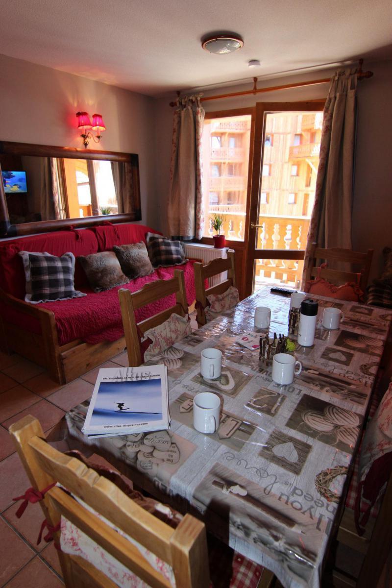 Vacances en montagne Appartement 3 pièces cabine 6 personnes (644) - Les Chalets des Balcons - Val Thorens - Séjour