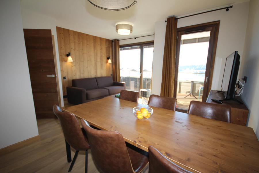 Каникулы в горах Апартаменты 3 комнат 6 чел. (F22) - Les Chalets des Cimes - Les Saisies - Стол