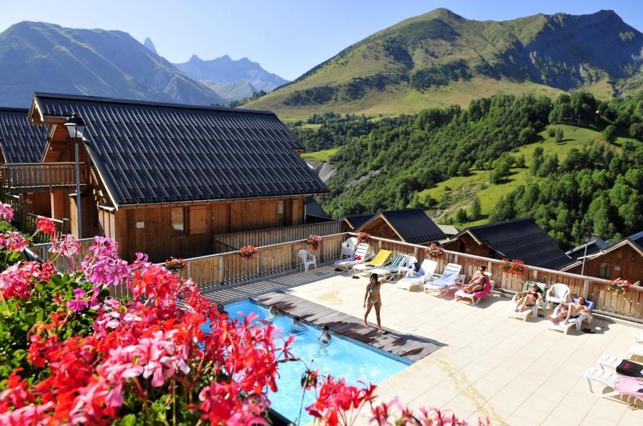 Rent in ski resort Les Chalets des Ecourts - Saint Jean d'Arves - Summer outside