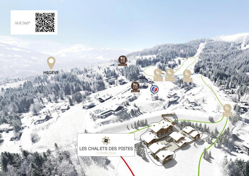 Wakacje w górach Les Chalets des Pistes - Combloux - Plan