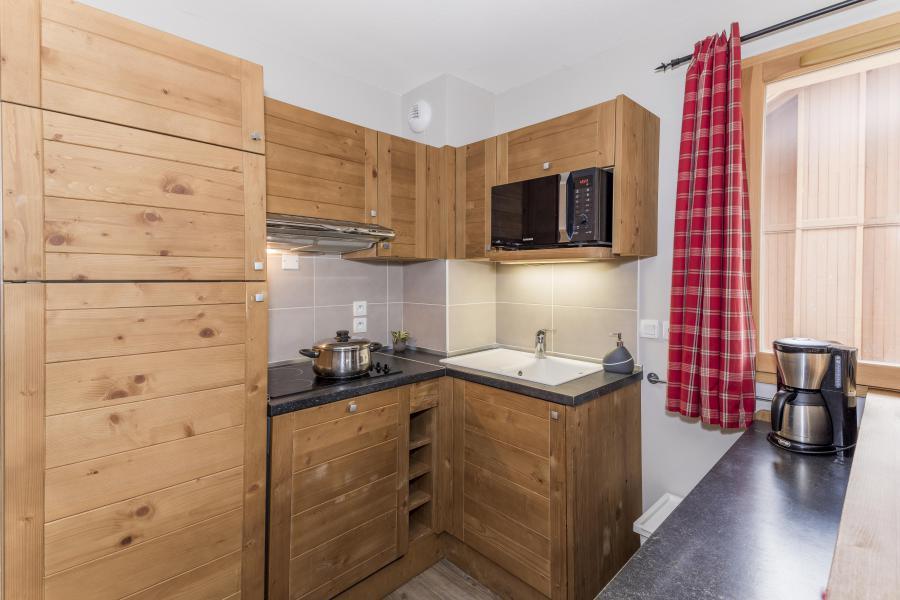 Vacances en montagne Appartement duplex 4 pièces 8 personnes - Les Chalets Des Rennes - Vars - Kitchenette