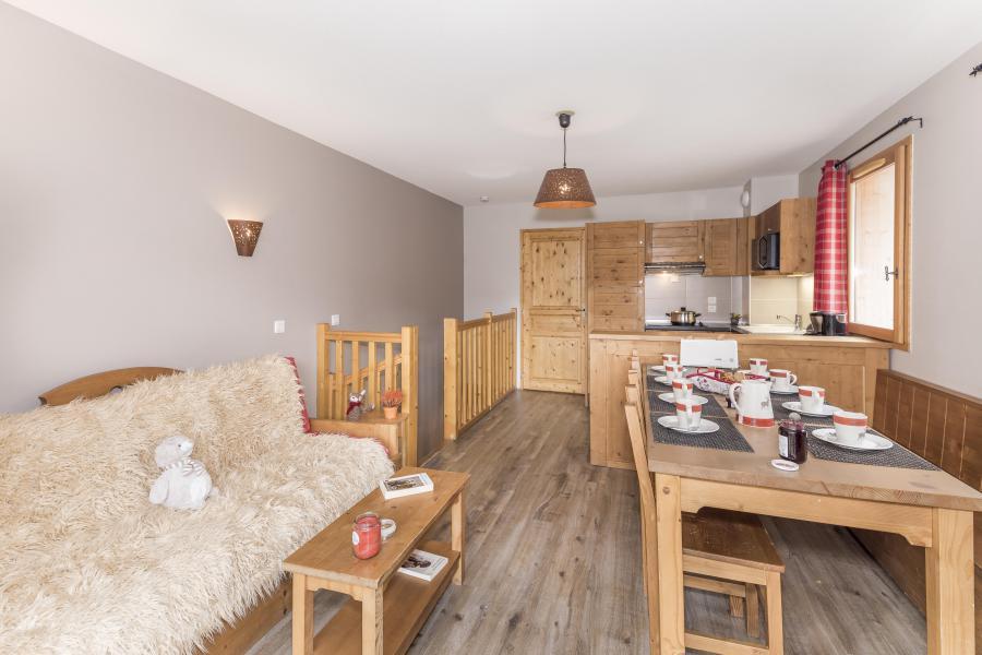 Vacances en montagne Appartement duplex 4 pièces 8 personnes - Les Chalets Des Rennes - Vars - Séjour