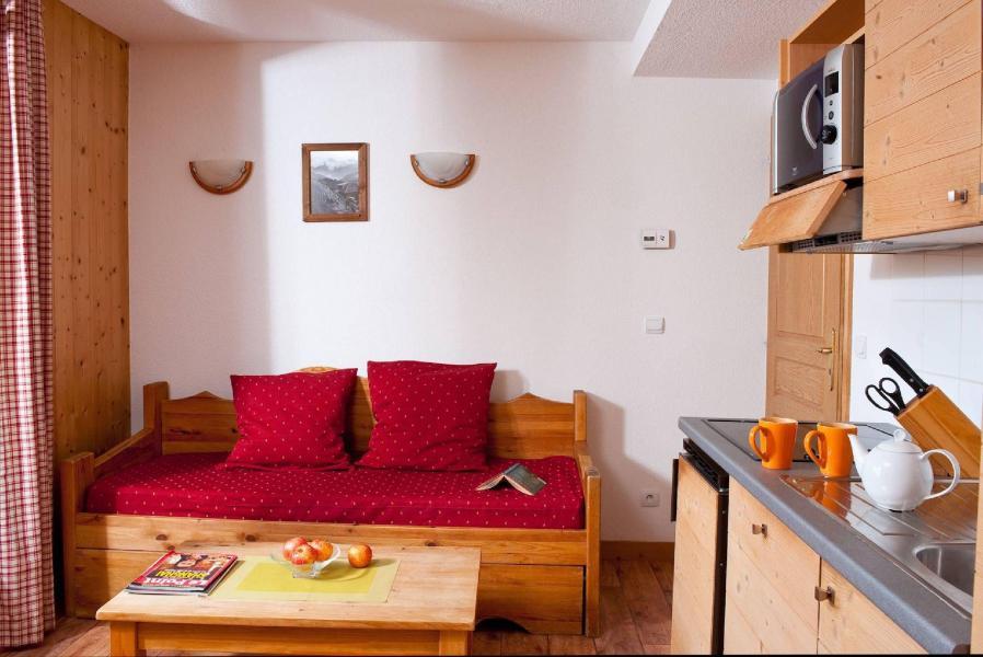 Urlaub in den Bergen Les Chalets du Berger - La Féclaz - Ausziehschlafcouch für 2 Personen