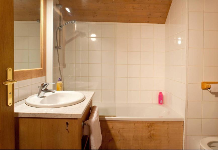 Urlaub in den Bergen Les Chalets du Berger - La Féclaz - Badezimmer