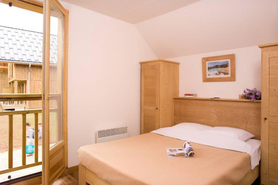 Urlaub in den Bergen Les Chalets du Berger - La Féclaz - Doppelbett