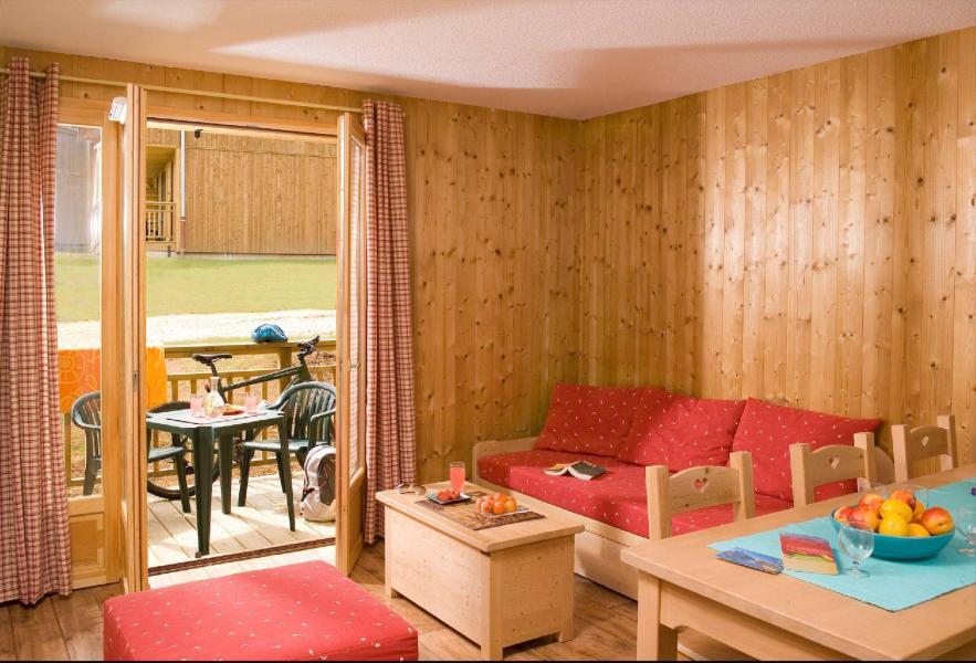 Urlaub in den Bergen Les Chalets du Berger - La Féclaz - Kleines Wohnzimmer