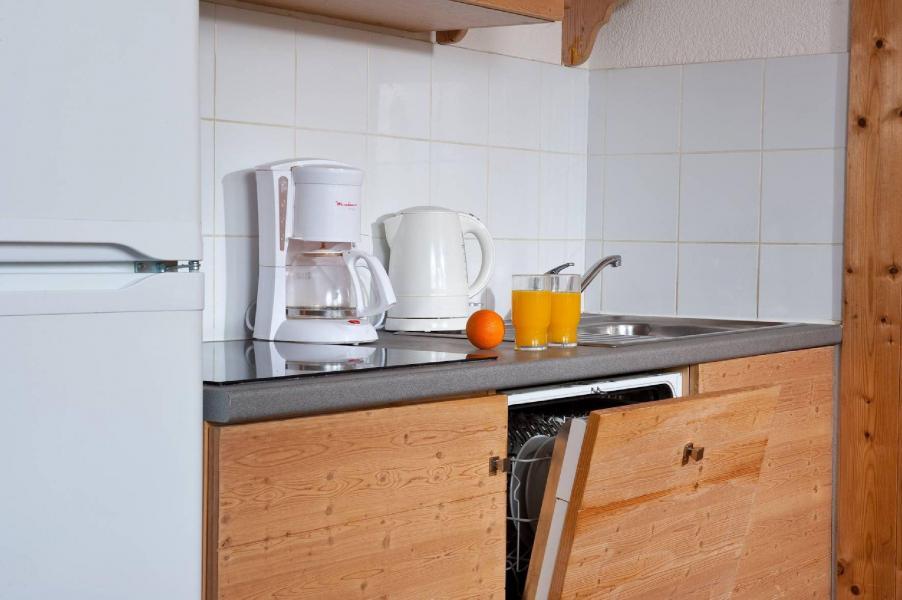 Urlaub in den Bergen Les Chalets du Berger - La Féclaz - Küche