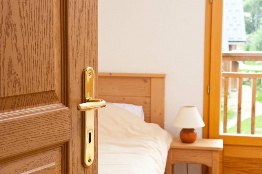 Urlaub in den Bergen Les Chalets du Berger - La Féclaz - Schlafzimmer