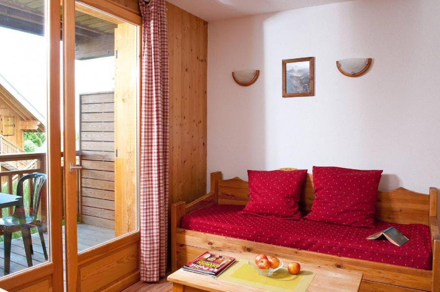 Urlaub in den Bergen Les Chalets du Berger - La Féclaz - Wohnzimmer