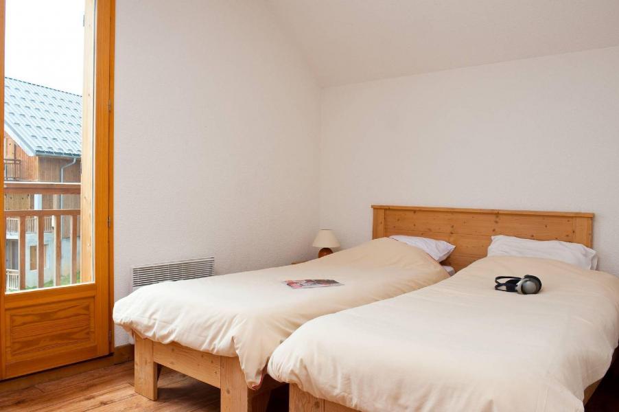 Urlaub in den Bergen Les Chalets du Berger - La Féclaz - Zwei Einzelbetten