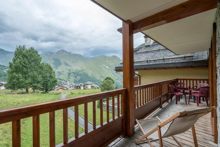 Skiverleih 3-Zimmer-Appartment für 6 Personen (C09) - Les Chalets du Gypse - Saint Martin de Belleville - Draußen im Sommer