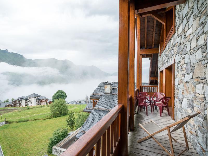 Skiverleih 5-Zimmer-Appartment für 10 Personen (C17) - Les Chalets du Gypse - Saint Martin de Belleville - Draußen im Sommer