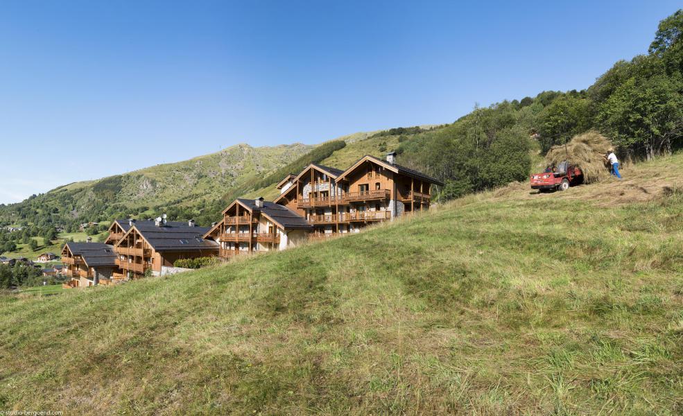 Каникулы в горах Les Chalets du Gypse - Saint Martin de Belleville - летом под открытым небом