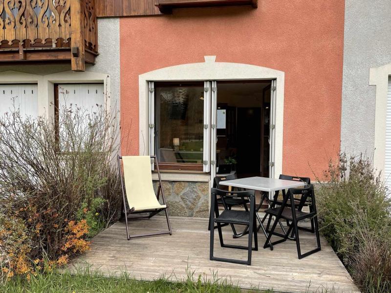 Location au ski Chalet duplex 3 pièces 6 personnes (22) - Les Chalets du Jardin Alpin - Serre Chevalier - Extérieur été