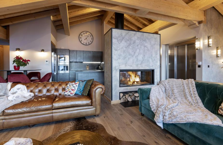 Holiday in mountain resort 6 room chalet 10 people (ORLOV) - Les Chalets du Koh-I-Nor - Val Thorens - Accommodation