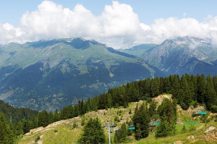 Vacances en montagne Les Chalets du Praz - La Plagne - Extérieur été