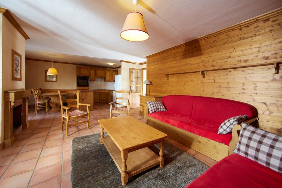 Urlaub in den Bergen Les Chalets du Soleil - Les Menuires - Sofa