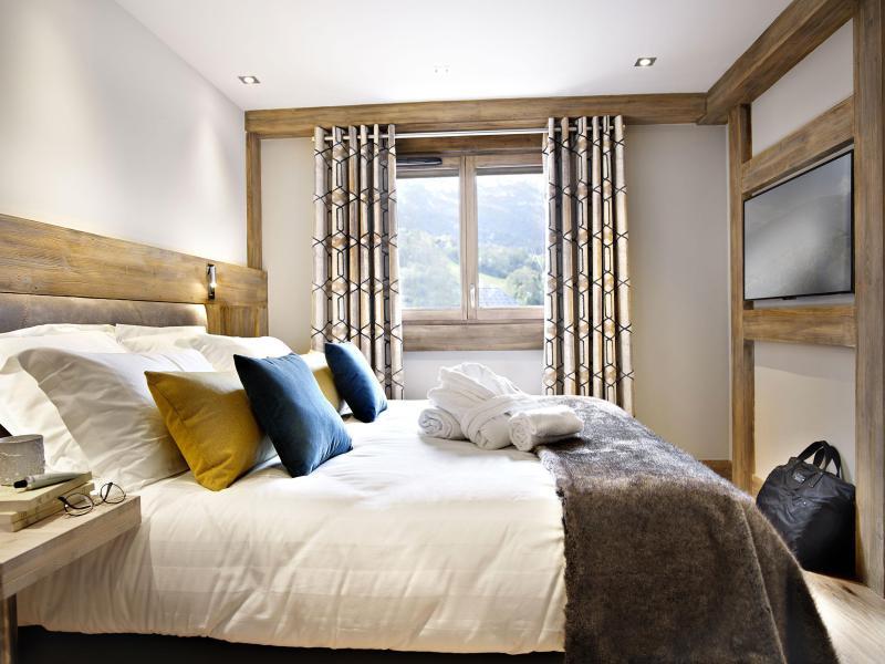 Vacances en montagne Les Chalets Eléna - Les Houches - Chambre