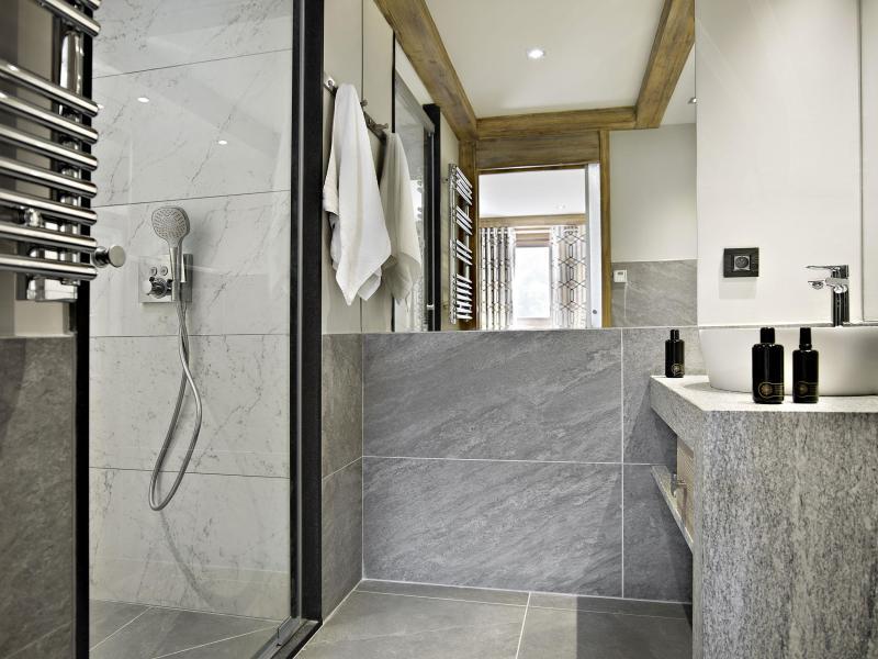 Vacances en montagne Les Chalets Eléna - Les Houches - Salle de bains