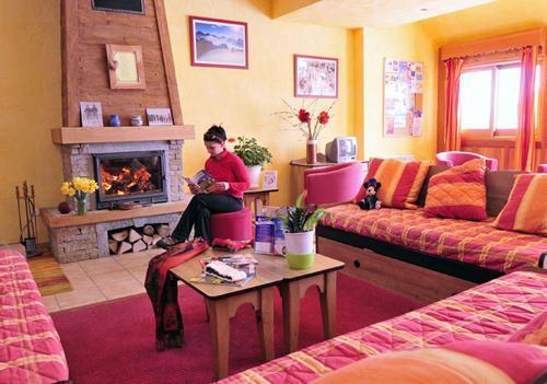 Vacances en montagne Les Chalets Goelia - La Toussuire - Réception