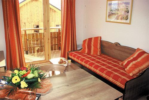Vacances en montagne Appartement 2 pièces 4 personnes - Les Chalets Goelia - La Toussuire - Séjour