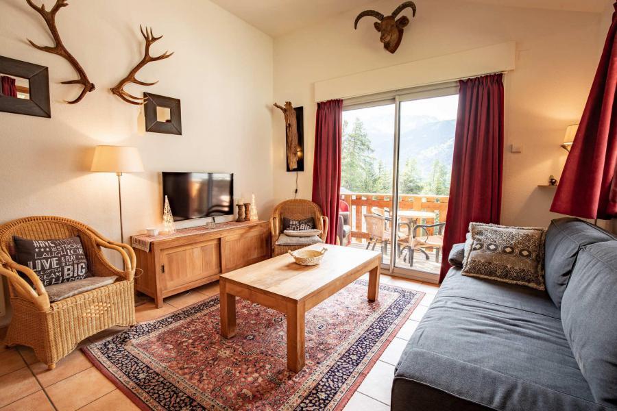 Vacaciones en montaña Chalet semi-separado 3 piezas para 6 personas (CHT79) - Les Chalets Petit Bonheur - La Norma - Estancia