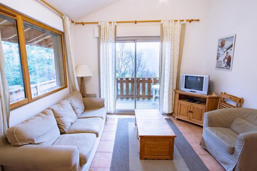 Vacaciones en montaña Chalet semi-separado 3 piezas para 6 personas (CHT93) - Les Chalets Petit Bonheur - La Norma - Sofá