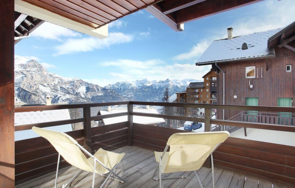 Vacanze in montagna Les Chalets Puy Saint Vincent - Puy-Saint-Vincent - Balcone