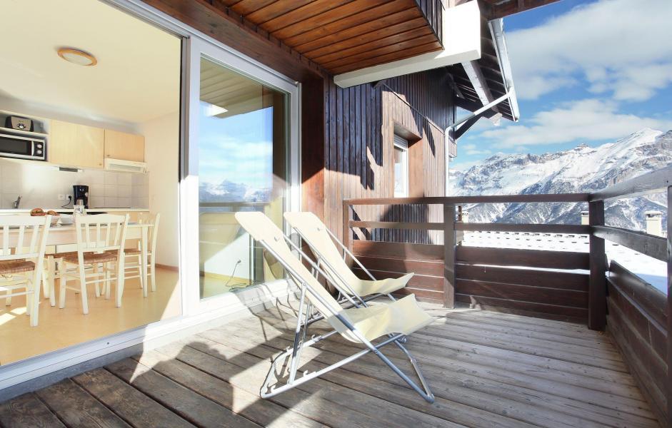 Vacanze in montagna Les Chalets Puy Saint Vincent - Puy-Saint-Vincent - Terrazza