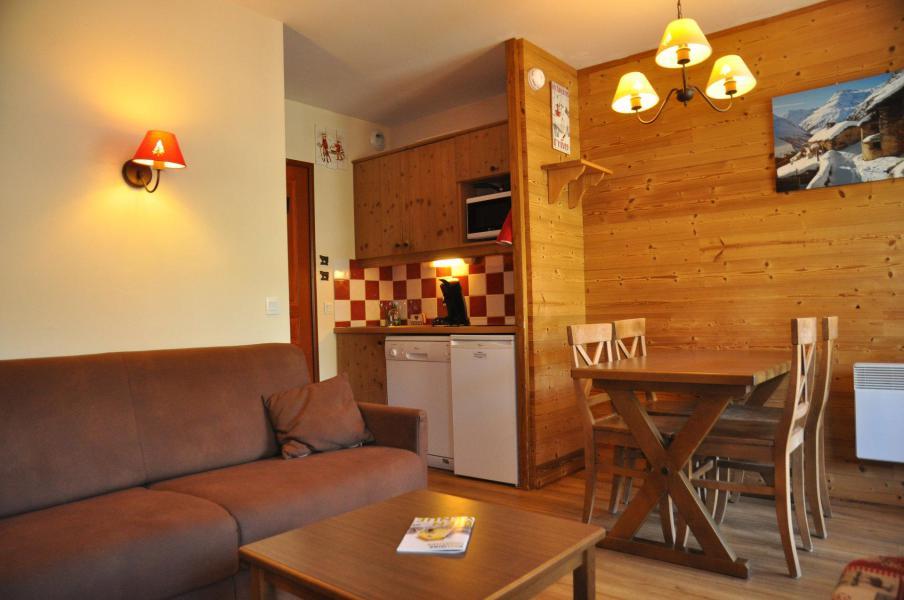 Urlaub in den Bergen 2-Zimmer-Appartment für 5 Personen (22) - Les Chalets Valoria - Valloire - Sitzbank