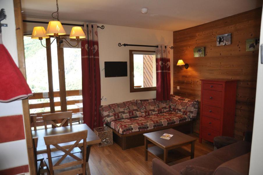 Urlaub in den Bergen 2-Zimmer-Appartment für 5 Personen (22) - Les Chalets Valoria - Valloire - Wohnzimmer