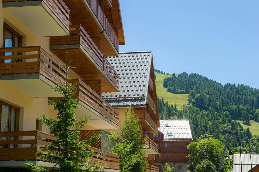 Urlaub in den Bergen Les Chalets Valoria - Valloire - Draußen im Sommer