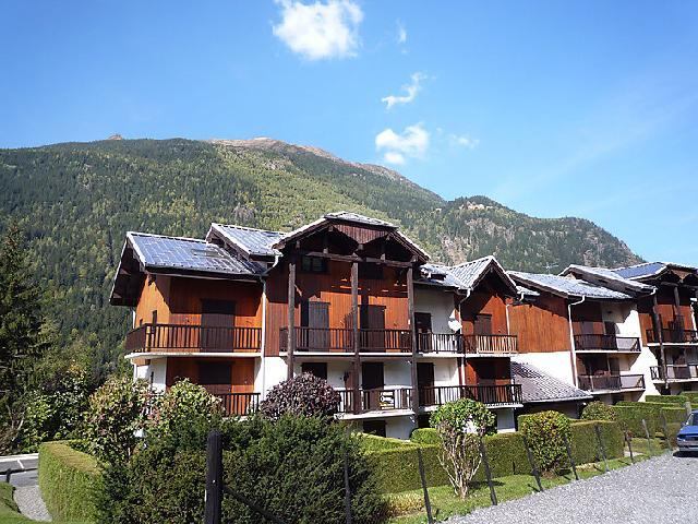 Vakantie in de bergen Appartement 1 kamers 3 personen (4) - Les Chamois - Les Houches - Buiten zomer