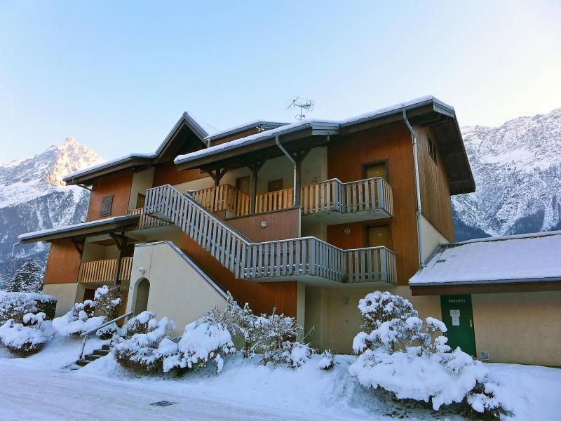 Vakantie in de bergen Appartement 1 kamers 3 personen (4) - Les Chamois - Les Houches