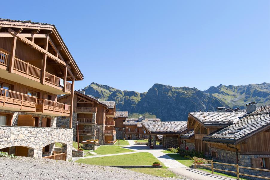 Urlaub in den Bergen Les Cimes Blanches - La Rosière - Draußen im Sommer