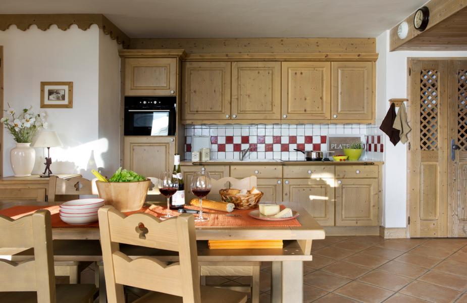Urlaub in den Bergen Les Cimes Blanches - La Rosière - Küche