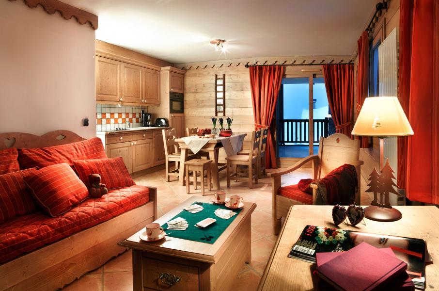 Urlaub in den Bergen Les Cimes Blanches - La Rosière - Wohnzimmer